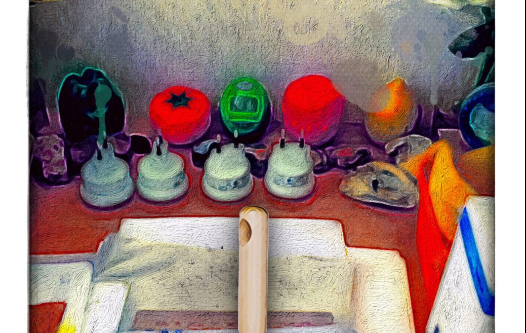 Jan Uiterwijk ~ Still life or the illusion of knowing how to paint
