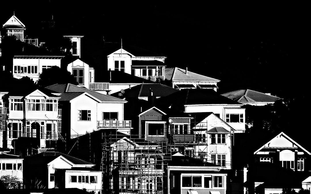 {sunday} Leon Williams ~ Houses of Wellington, New Zealand Camera2iOS, Blackie app.