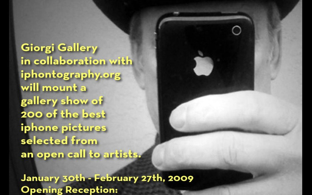 {podcast} Ten Years Ago Today, the Pixels At An Exhibition Show Opened at Giorgi Gallery In Berkeley, CA