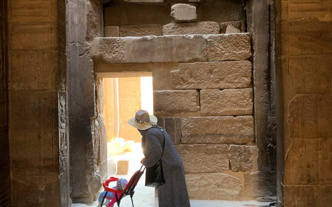 Damian De Souza ~ The Time Travellers: Luxor Temple.