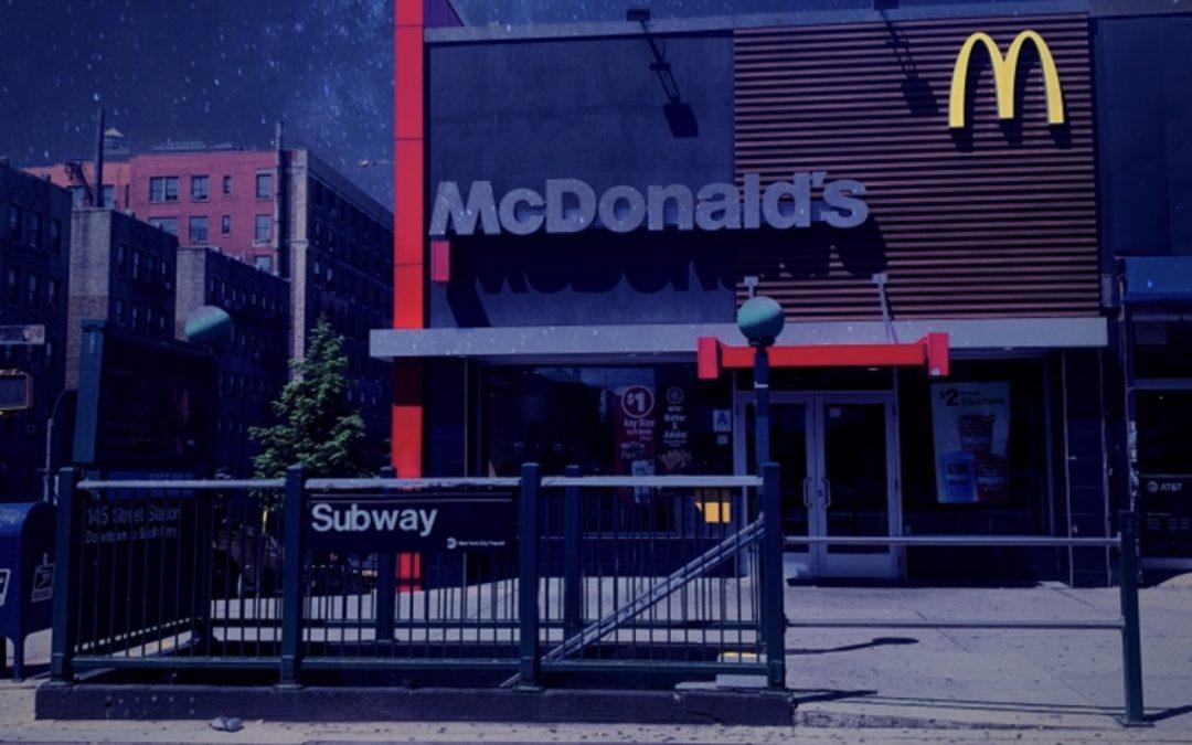 Paul Toussaint ~ McDonalds at Midnight