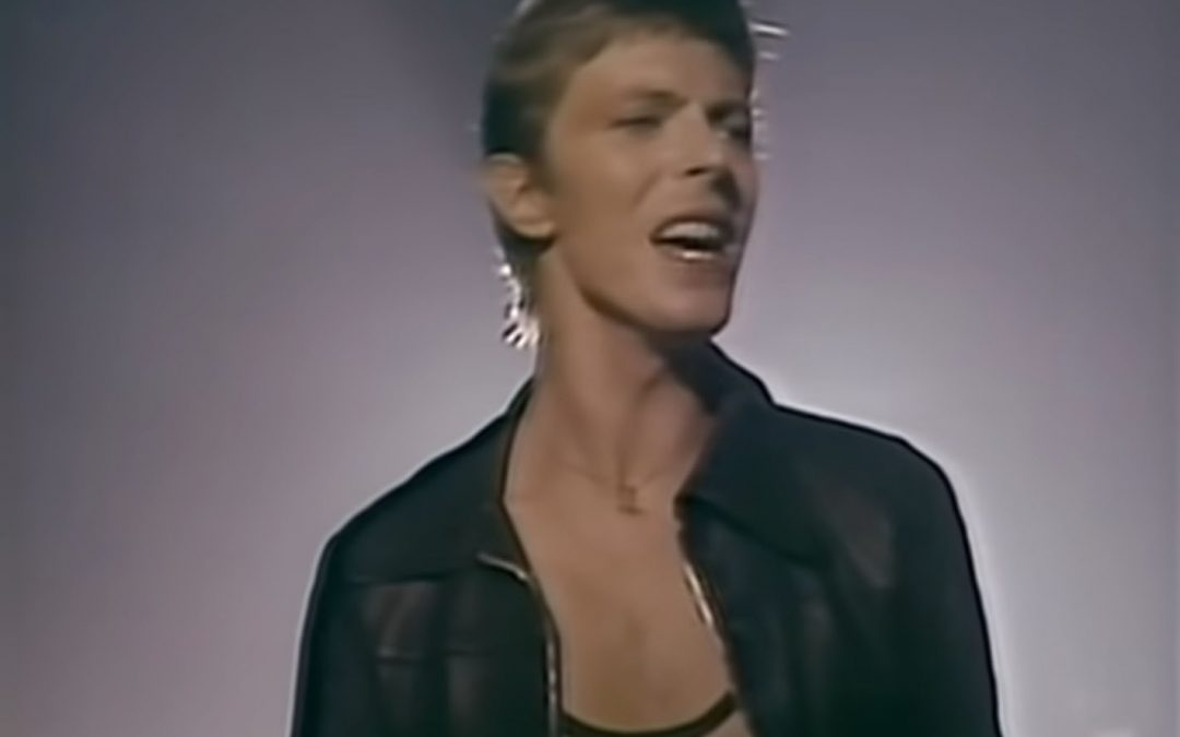 "{video} It's the 43rd Anniversary of the Release of ""Heroes,"" by David Bowie, so …"