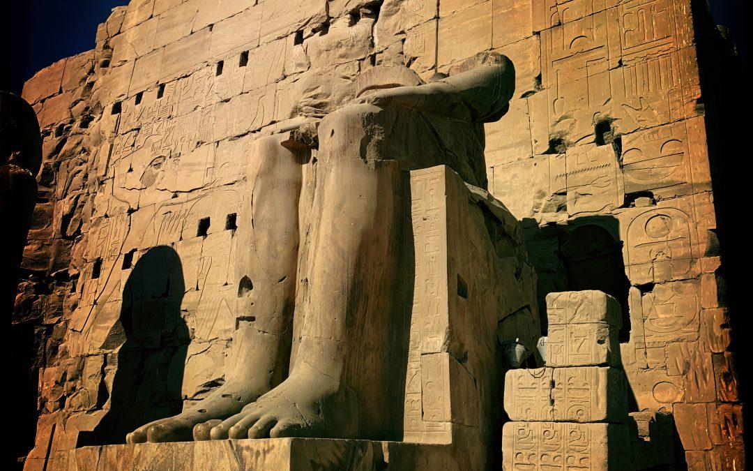 Damian De Souza ~ Karnak Temple, Luxor, Egypt.