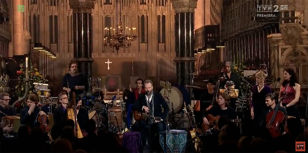 {video} Sting: A Winter's Night … Live from Durham Cathedral