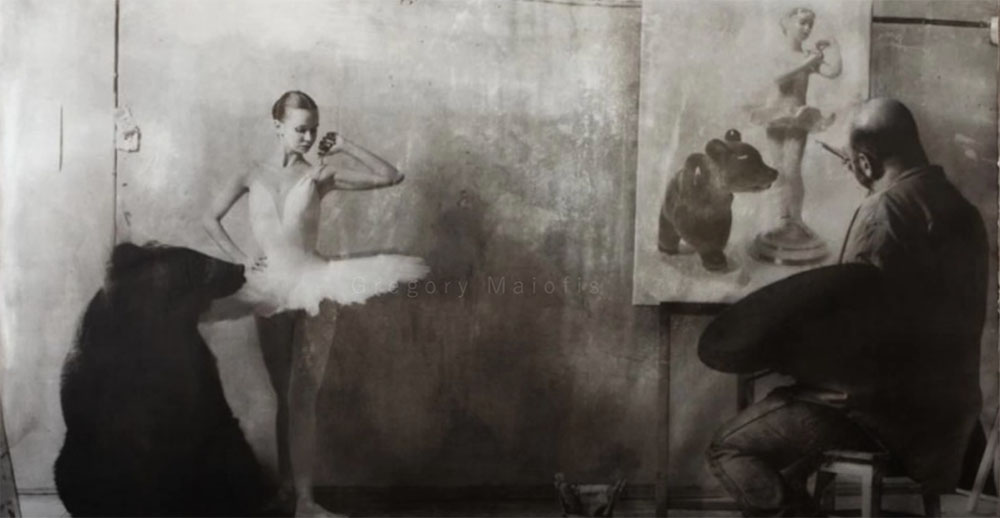 {video} Gregory Maiofis – Photography/paintings.