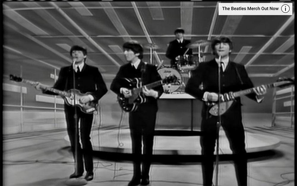 {video} The Beatles on the Ed Sullivan Show, February 9, 1964