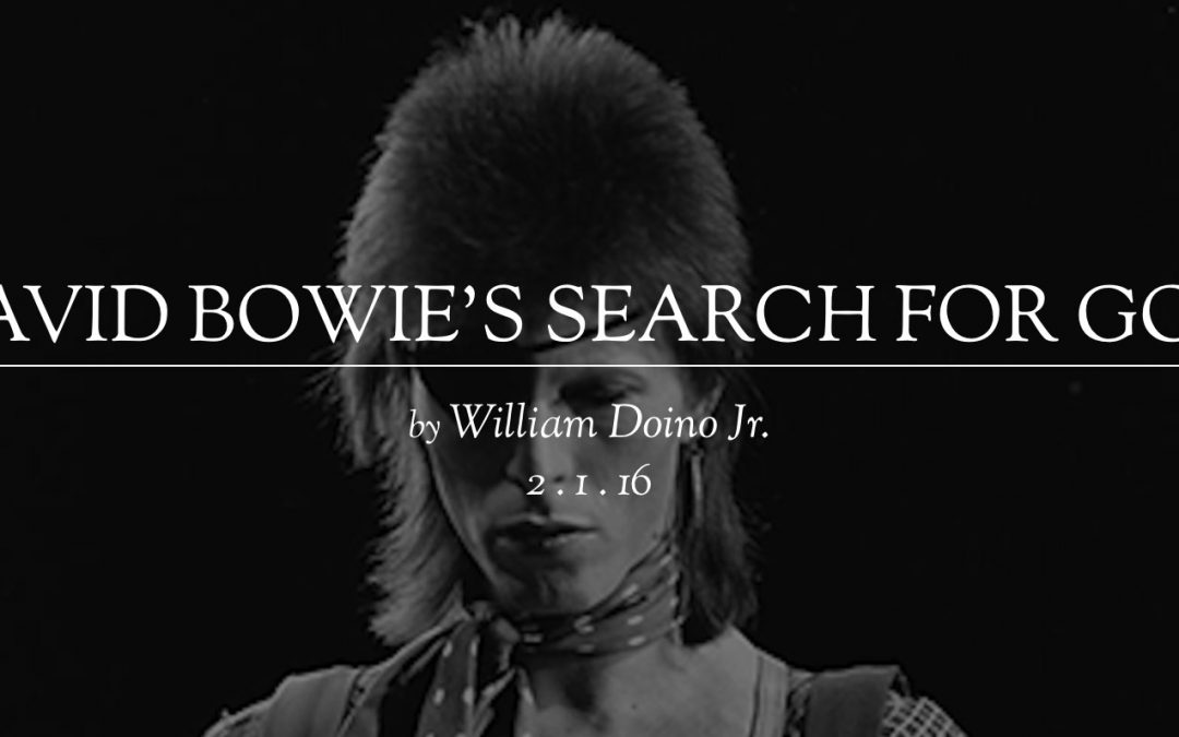David Bowie's Search For God