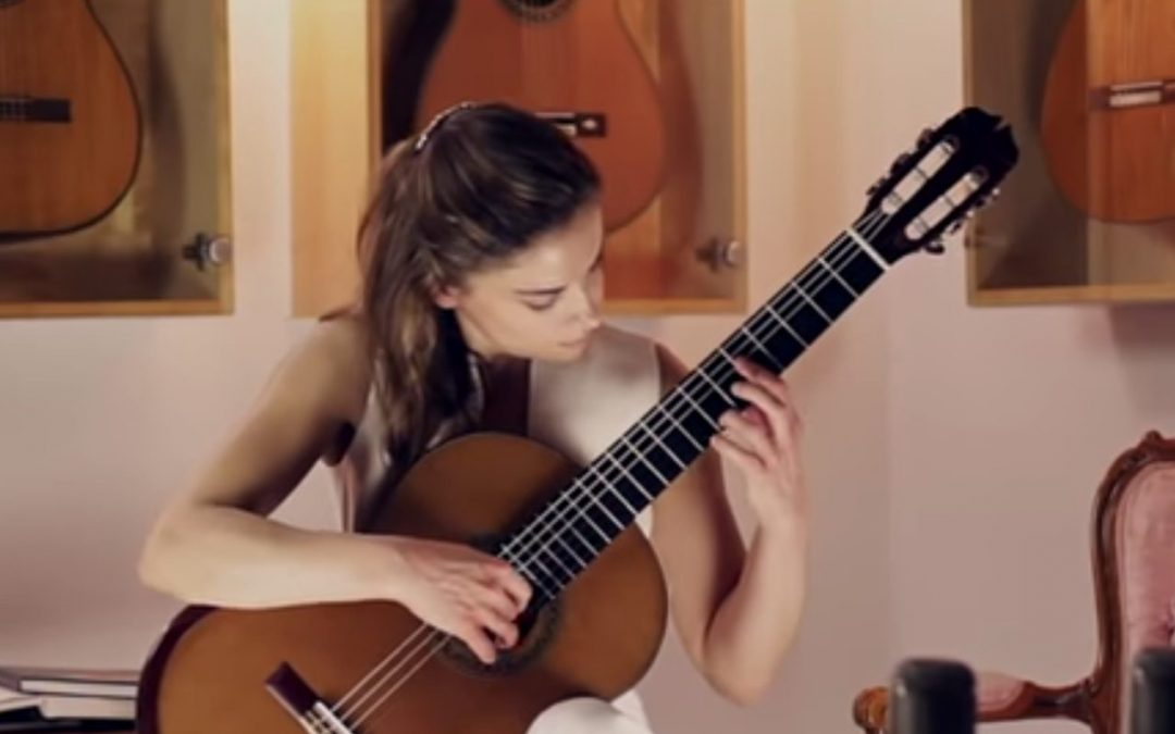 "{video} Ana Vidovic plays ""Un Dia de Noviembre"" by Leo Brouwer"