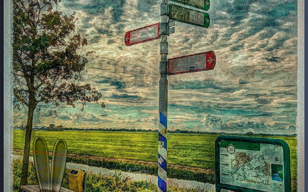 {sunday} Jan Uiterwijk ~ Lost or not knowing where to go